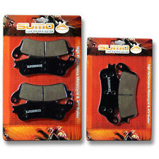 Honda F+R Brake Pads VFR 800 Interceptor 1998 1999 2000 2001 2002 2003 2004 2005