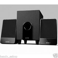 2.1 TV Speaker System Subwoofer Compact Surround Sound - universal 3.5mm jack