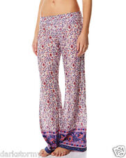 BNWT BILLABONG LADIES WESTBROOK PANTS (PURPLE HEART) SIZE LARGE 12-14) RRP$80