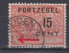 Port nr 40 used gebr. PLAATFOUT 89 PM1 NVPH Netherlands Nederland due portzegel