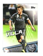 2016 TOPPS MLS DAVID VILLA SP #100 BASE VARIATION NEW YORK CITY FC RARE SPAIN