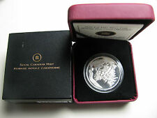 2010 Proof $20 Holiday #3 - Pine Cones Moonlight Crystals Canada .9999