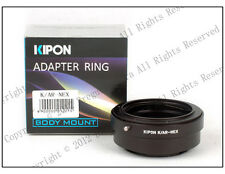 Kipon Adapter Konica AR Lens to Sony E Mount NEX 7VG10 VG20 A7R 5T 6 5 5N A5000