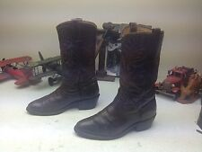 VINTAE USA RED WING BROWN LEATHER ENGINEER WESTERN COWBOY TRAIL BOSS BOOTS 6.5 D