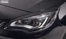 RDX Scheinwerferblenden OPEL Astra J (nicht GTC) Böser Blick ABS Blenden Spoiler