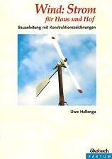 Selber Windkraftanlage bauen. Wind Solar Enegie natürlich erzeugen Haus & Hof!