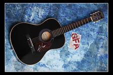 **GFA* Vegas Girl *CONOR MAYNARD* Signed Acoustic Guitar M2 PROOF COA**