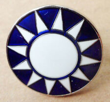 Chinese KMT army Clothes small hat cap pin badge insignia-D13