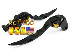 Black Blade CNC Brake Clutch Levers For Honda CBR1100XX/BLACKBIRD 1997-2007