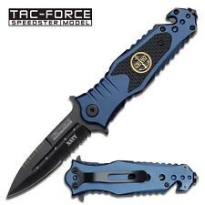 Spring Assist - 'Legal Auto Knife' - Tactical Spike Navy