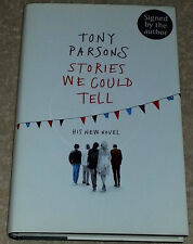 Tony Parsons SIGNED Stories We Could Tell 1st Edn UKHC