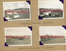 DVD  WW2 PHOTO ALBUM RAF SELETAR SINGAPORE 1947 SPITFIRE SUNDERLAND FLYING BOATS