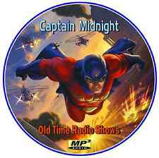 Captain Midnight -  134 Old Time Radio Shows  MP3 - DVD