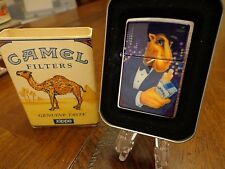 JOE CAMEL IN TUX TUXEDO ZIPPO LIGHTER MINT IN BOX 1997