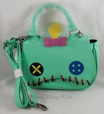 New Loungefly Disney Lilo & Stitch Scrump Face Mini-Saddle Hand Bag Purse