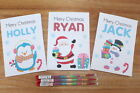 Personalised A6 Christmas Activity Pack Stocking Filler Pack Xmas Eve Gift Bag