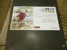 World War 2 50th Anniversary 1995 fdc Victory over Japan Burma  star V C signed