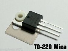 20 x Thermal Insulator Kit Mica Pad + Bush Washer for TO-220 Heatsink