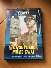 IL PONTE SUL FIUME KWAI con W. Holden  IL GRANDE CINEMA DI GUERRA DVD