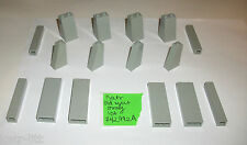 LEGO OLD LIGHT GREY 1x1x5 1x2x5 2x2x3 1x2x3 2453 4460 73 Degree Slope 30499 lot