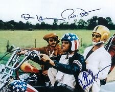 Easy Riders Jack Nicklaus Peter Fonda Dennis Hopper Autographed Photo Reprint