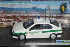 # 1/43 ALFA ROMEO 146 VIGILI URBANI CITTA' DI TORINO (POLIZIA MUNICIPALE) CODE3#