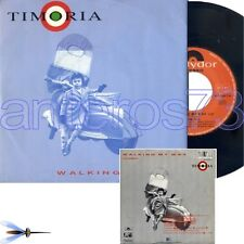"TIMORIA FRANCESCO RENGA OMAR PEDRINI ""WALKING MY WAY"" RARO 45GIRI - MINT"
