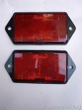 Pair Rear Reflectors Red fit Land Rover Series III 90/110 Defender XFF100070