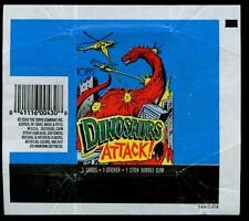 Dinosaurs Attack, Topps, Trading Cards Wrapper #W15