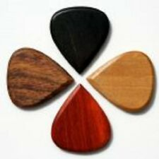 TIMBER TONES 4 Pack BLUES Tones Guitar Picks Haldu Padauk Rosewood Ebony