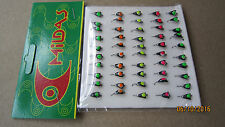 50 NEW Mormyshka Ice Fishing Jigs Lures 'koza 1'  from Ukraine