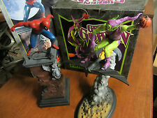 Bowen Designs Statue Marvel Heroes Statue Set! Spider-Man & Green Goblin