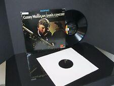 """NM GERRY MULLIGAN """"PARIS CONCERT"""" RECORD """"LIVE"""" IN PARIS LP VINYL RECORD"""