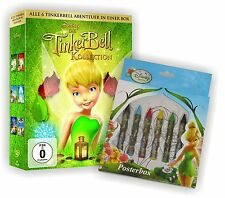DIE TINKERBELL Aventure Box 1 - 6 COLLECTION ltd. POSTERBOX Disney DVD édition