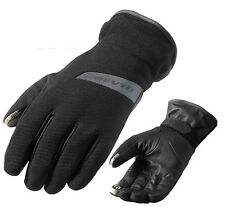 GUANTI GLOVES MOTO REV'IT REVIT SENSE H2O IMPERMEABILI WOTERPROOF NERO TG M
