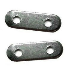 100 pcs 2 Hole Iron Spacer Bars - Black Findings - A5663