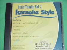 Chris Tomlin~#2~Christian Daywind Karaoke Style ~ Our God ~ I Will Rise ~ CD+G