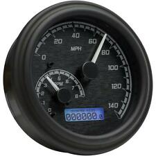 Dakota Digital MVX Series Analog/Digital Black Gauge Black/Gray MVX-2004-KG-K