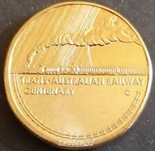 **2017  Centenary of the Trans Australian Railway $1 coin UNC**