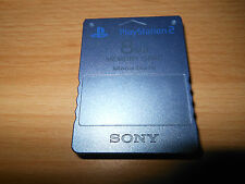PLAYSTATION 2 RARE AQUA BLUE 8MB MEMORY CARD OFFICIAL MAGICGATE PS2