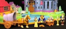 Polly pocket �� 1997 Disneys Belle Beauty and the Beast Castle Schöne Biest (8)