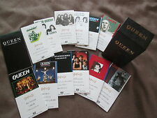 "QUEEN CD Single Box JAPAN 12x3""CD BOX SET w/48-page Booklet TODP-2251/2262 Ex"