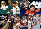 Roger Federer Rafael Nadal Djokovic Murray Tennis Autograph Signed A4 Poster 2