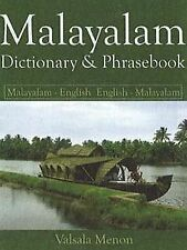 Malayalam : Dictionary and Phrasebook by Valsala Menon (2007, Paperback)