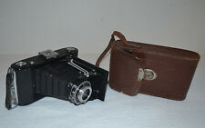 Vintage Zeiss Ikon Nettar 515/2 Folding Camera With Case
