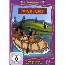 YAKARI - GESCHENKBOX (5) 2 DVD+2 CD  NEU