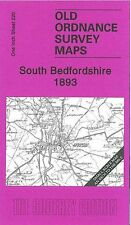 MAP OF SOUTH BEDFORDSHIRE 1893