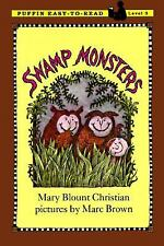 Swamp Monsters: Level 3 (Easy-to-Read, Puffin) Christian, Mary Blount Paperback