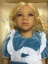 """Annette Himstedt ~ ALKE Children Together Collection 27"""" Girl Doll Puppen Kinder"""