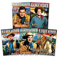 Range Rider: Western TV Series Complete Volumes 1 2 3 4 5 Box / DVD Set(s) NEW!